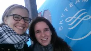 Schiphol selfie